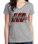 Charger R/T Ladies V- Neck T-shirt Muscle Classic Racing Car RT Tee - 1544C