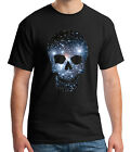 Super Cool Space Skull Adults T shirt New Fashion Skull Tee for Men 1553C