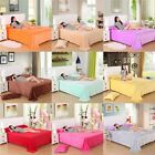 Double King Super Soft Flannel Blanket Bed Sofa Throws Blankets 14 Colors image