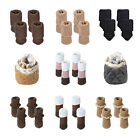 16pcs/32pcs Furniture Table Chair Foot Leg Knit Socks Cover Pads Floor Protector