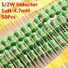 50Pcs 0410 1uH to 1mH to 47mH DIP Color Wheel Inductor 10 47 470 Inductance