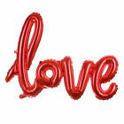 """5/10/15pc Red """"LOVE"""" Letter Foil Balloon Anniversary Wedding Valentines Party"""