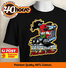 Truck T-Shirt Kenworth Rules The Road (Conv) - Colour