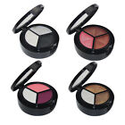 3 Colors Platte Gitter with Brush Eye Shadow Cosmetics Makeup Sets