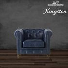 New Restoration Chesterfield English Industrial Hardware Leather Chair Sofa