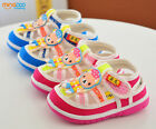 New Baby Infant Boys Girls Summer Sandals Toddler Squeaky Shoes Size 3.5-6.5