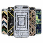HEAD CASE DESIGNS GEOMETRIC MARBLE SOFT GEL CASE FOR APPLE iPOD TOUCH MP3