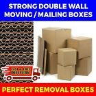 STRONG DOUBLE WALL MOVING HOME REMOVAL AND SHIPPING BOXES + FREE TAPE INCLUDED