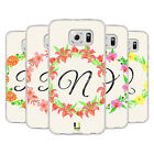 HEAD CASE DESIGNS FLORAL WREATH 2 SOFT GEL CASE FOR SAMSUNG PHONES 1