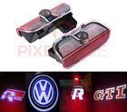 2x VW VOLKSWAGEN CREE LED PROJECTOR CAR DOOR LIGHTS SHADOW COURTESY LASER LOGO