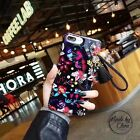 New Beautiful Floral Retro Flower strap Tassel Case For iPhone 6s PLUS 7 7 Plus