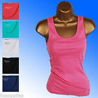 EX M&S Pure Cotton Vest Top Marks and Spencer