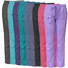 Medgear Womens Scrubs Pants, Utility Style with 7 Pockets and Loop 2043