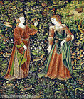dolls house miniature tapestry effect picture hanging 1/12th or 1/24th scale #22