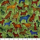 "QUILTING TREASURES ""IT'S A RUFF LIFE"" 24244-G DOGS FABRIC (MAKE SELECTION)"