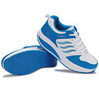 Women Lady Casual Shoes Atheletic Sports Shoes Running Sneakers White Black Blue