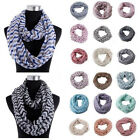 Women Lady Winter Scarf Soft Warm Infinity Loop Cowl Neck Loop Circle Wrap Shawl