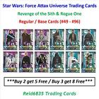 """Topps"" Star Wars: Force Attax Universe: - Regular / Base Cards (#49 - #96) £0.99 GBP"