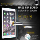 "Premium Tempered Glass Screen Protector for iPad 9.7"" 2018 2017 Air Mini 4 Pro"