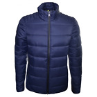 REPLAY Men's Quilted Navy Blue Jacket