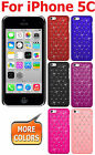 AMZER Designer Diamond Lattice Snap On Hard Shell Case Back Cover For iPhone 5C