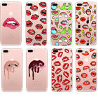 Charming Lips Cosmetic Rugged Hard Fitted Case Cover For iPhone 6 6s 7 7 Plus