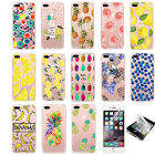 Sweet Fruits Pineapple Banana Fashionable Case Cover For iPhone 6 6s 7 7 Plus
