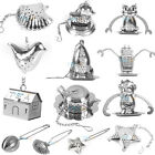 NEW Loose Tea Infuser Leaf Strainer Filter Diffuser Herbal Spice Stainless Steel