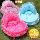 Winter Soft Warm Dog Puppy Cat Pet Bed House Teddy Lace Hot