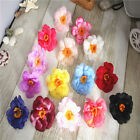 Multicolor Mini Artificial Flowers Silk flower Head Use For Wedding Decoration