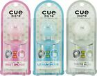 Cue Pure Cologne Clip Air Freshener Sweet Shower, Platinum Shower & White Musk