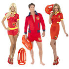 Smiffys Adults Official Licensed Baywatch Lifeguard Or Float Fancy Dress Costume