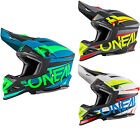 Oneal 8 Series Aggressor Motocross Helmet Off Road MX DD-Ring Fibreglass DOT ECE