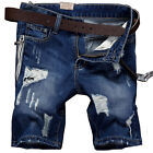 Fashion Mens Casual Denim Shorts Jog Jeans Men's Summer Shorts Sweat Pants