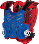 Astars Mens White/Blue/Red A-1 MXON CE Dirt Bike Chest Protector Roost Guard