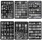 DIY Design Multi Pattern Nail Art Image Stamp Stamping Plates Manicure Template