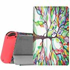 For Nintendo Switch 2017 Case Slim Fit Premium PU Leather Play Stand Cover