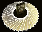 BICYCLE METALLUXE GOLD Limited Edition Cards By JOKARTE COLLECTORS Playing cards product image