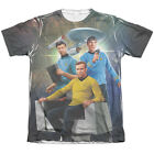 Star Trek Original Series KIRK SPOCK MCCOY 1-Sided Big Print Poly Cotton T-Shirt on eBay