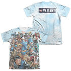 Valiant Comics Characters COMING AT YOU 2-Sided Big Print Poly Cotton T-Shirt