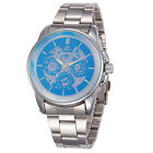 Luxury New Casual Analog Men Mechanical Automatic Skeleton Watch Stainless Steel