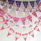2.3M Happy Birthday Bunting Garland Flags Party Decoration Hanging Banner