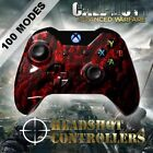 Xbox One/S/X Red Zombie Arbiter 4 Rapid Fire 2 Black Paddle Controller BF-IW-GOW