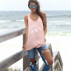 New Fashion Women Summer  Vest Top Sleeveless Casual Tank Blouse Tops T-Shir