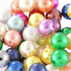 "Wholesale Lots HX Acrylic Spacer Beads Round Ball Mixed 14mm Dia.( 4/8"")"