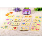Baby Infant Early learning Head Training Puzzle Toys Cognitive Card Baby QW