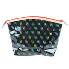 NWT Dooney Bourke Clear Logo Cosmetic Case Bag Pouch Pick a Design!