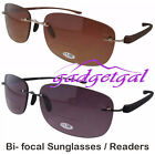 Bi-focal Sunglasses / Readers Outdoor Reading Fishing Glasses 1.5 2.0 2.5 3.0