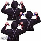 2 Double Ninja Swords Warrior Assassin Weapon Turtles 61cm Fancy Dress Costume