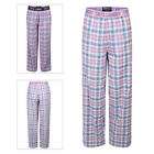 Tokyo Laundry Womens Checked Lounge Pants Ladies Soft Cotton Pyjama Bottoms
